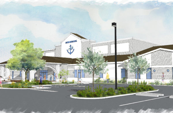 Destin Charter High School Rendering