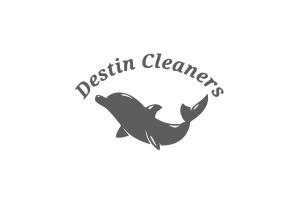 Destin Cleaners Logo