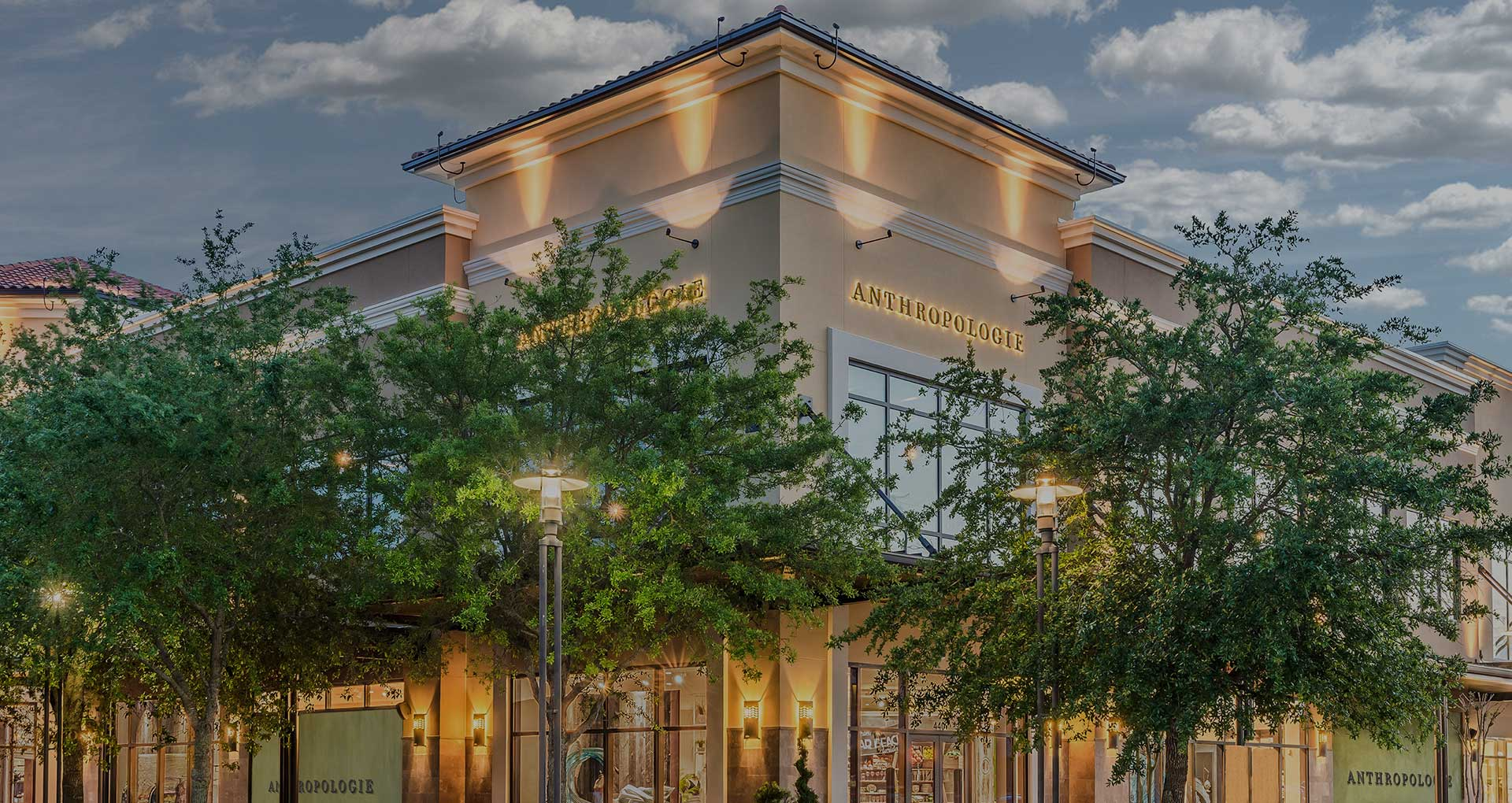 Anthropologie store exterior at Grand Boulevard